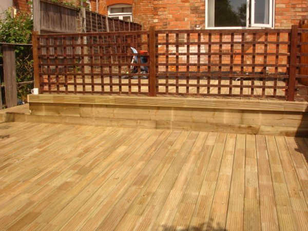 Garden design gallery block paving drives patios for 6 inch wide decking boards